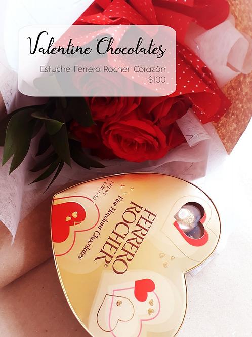 Valentine Chocolate Caja corazón Ferrero Rocher