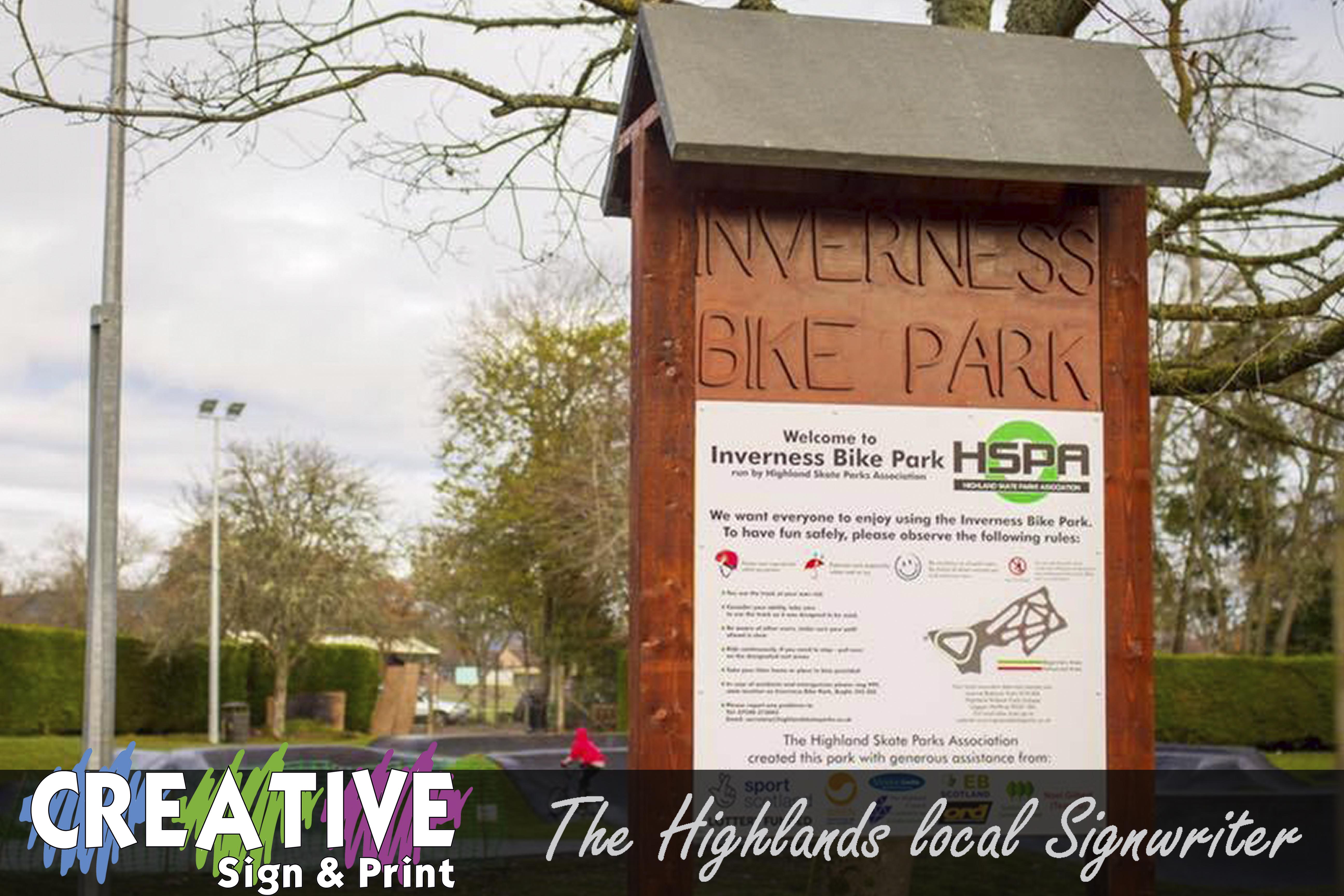 Be-Spoke wooden Signage