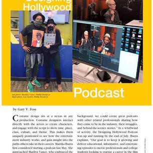 Costume Designer Magazine Story!