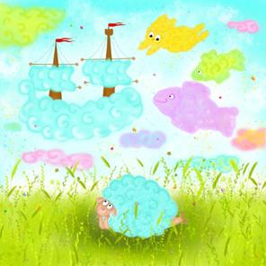 A Lamb and a Cloud
