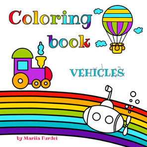 Coloring book vehicles
