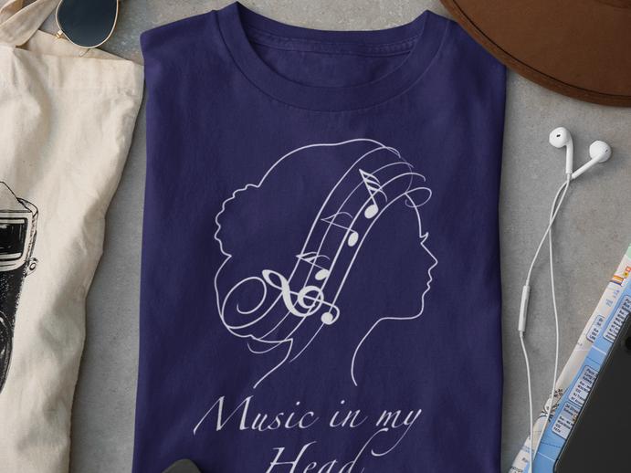 Music in my head t-shirt