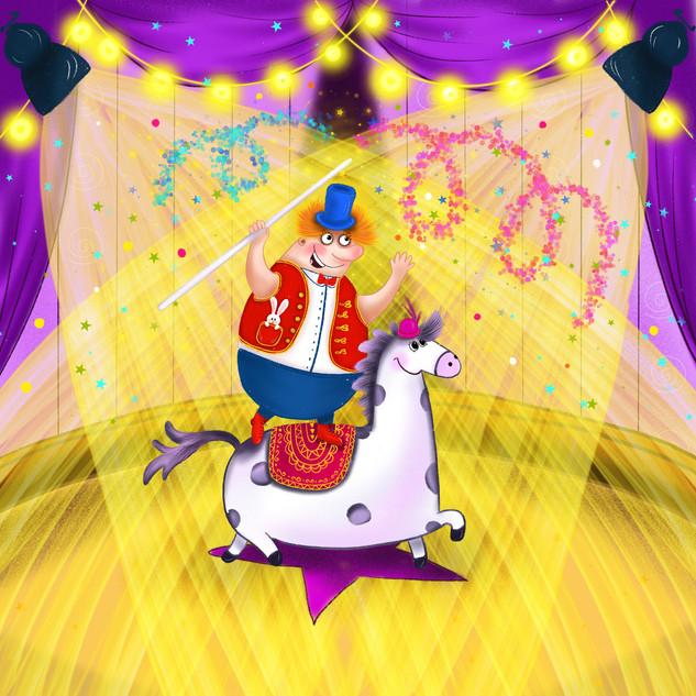 Uncle Venya circus star