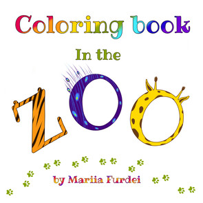 Coloring book Zoo