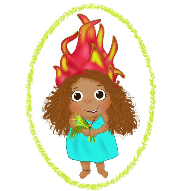 Dragon fruit princess
