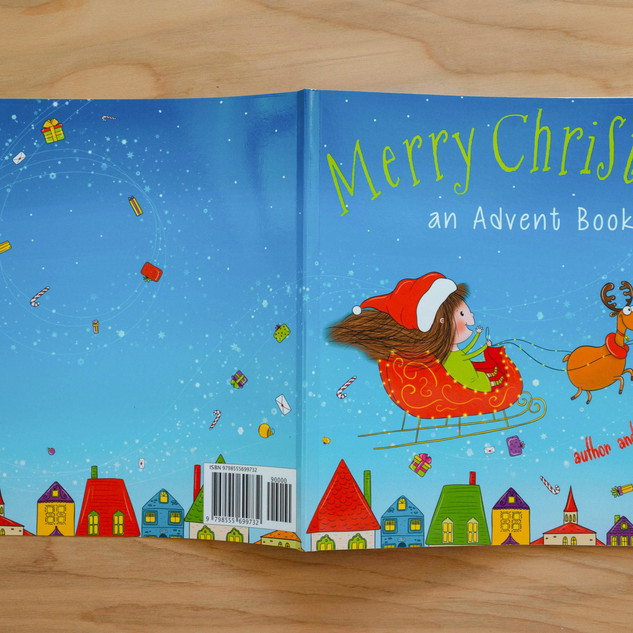 Merry Christmas Advent Book