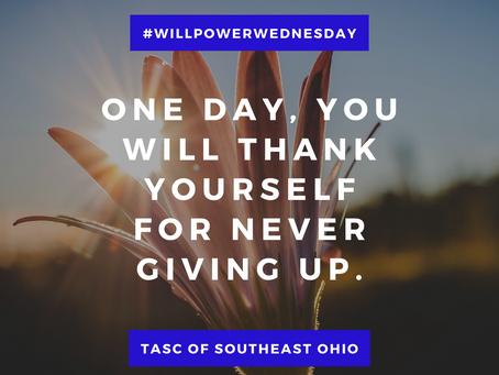 Willpower Wednesday - 7/21/2021