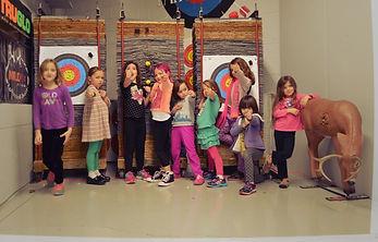 archery girls groups  princess warriors