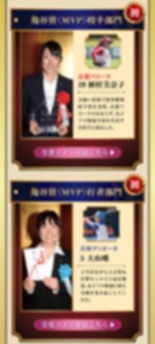 角谷賞(MVP)