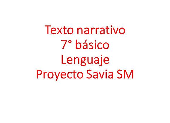 Texto narrativo