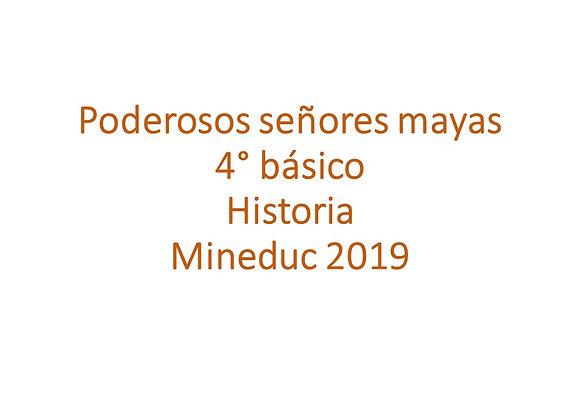 Poderosos señores mayas