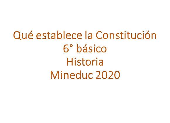 Qué establece la Constitución de Chile