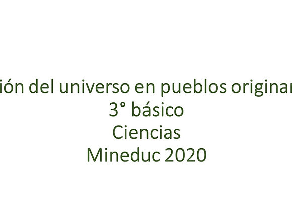 Visión del universo en pueblos originarios