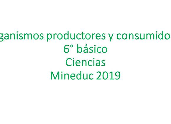 Organismos productores y consumidores