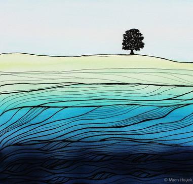 CLYDESDALE BLUE by Miren Hayk