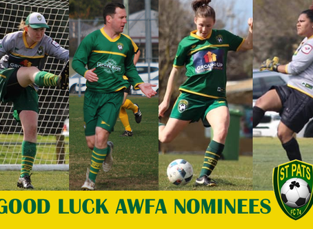 AWFA STAR PLAYER NOMINEES 2019