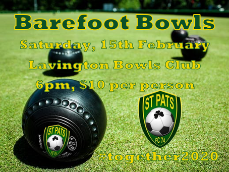 Barefoot Bowls is Back!