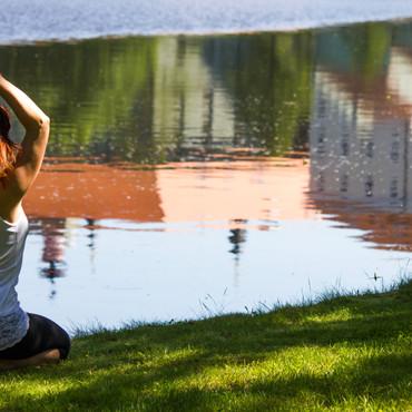 River Yoga by Miren Hayek