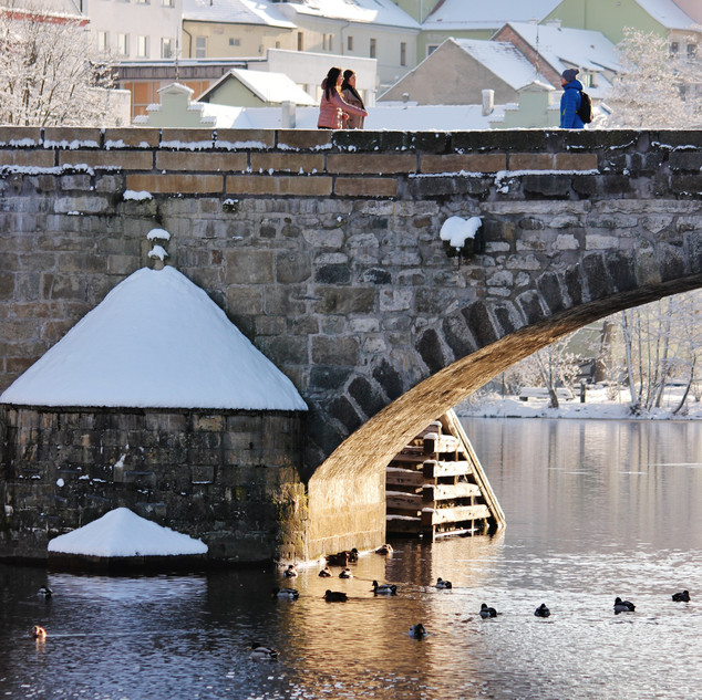 Pisek Bridge by Miren Hayek