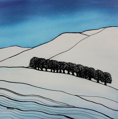 NISBET HILLS  by Miren Hayek