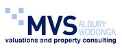MVS Valuers Albury Wodonga Logo with slo