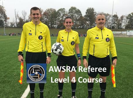 AWSRA Level 4 Ref Course