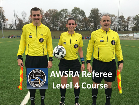 AWSRA Level 4 Ref Course