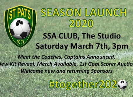 Season Launch 2020