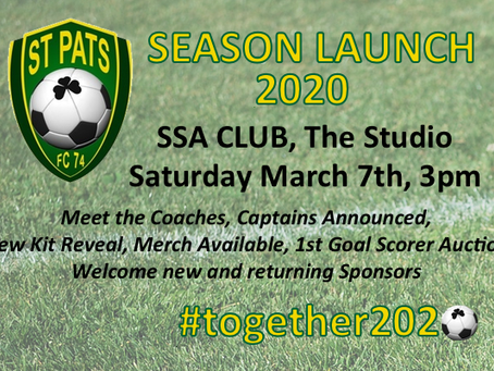 Season Launch 2020
