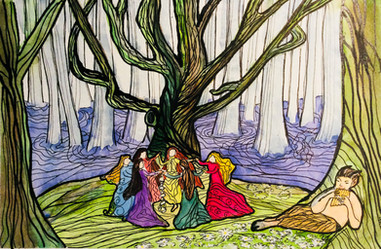 THE BEECH TREE by Miren Hayek