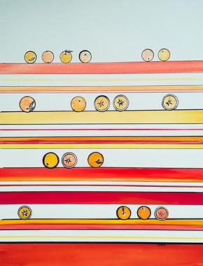 ORANGE GROVES by Miren Hayek
