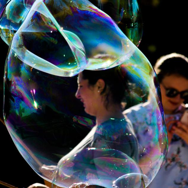 Seeing Bubble by Miren Hayek