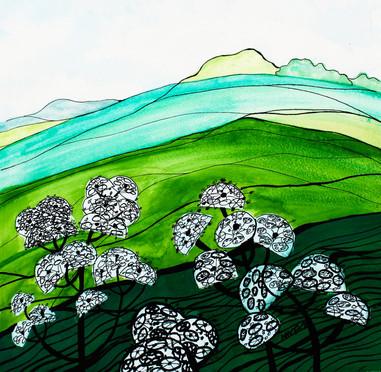 BIZZYBERRY LANDSCAPE by Miren Hayek