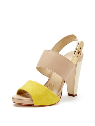 Coye Nokes CanarySuede/Natural/Gold