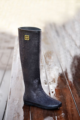 DAV Austin Snake Black Boot