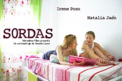 """Cartel cortometraje """"SORDAS"""""""
