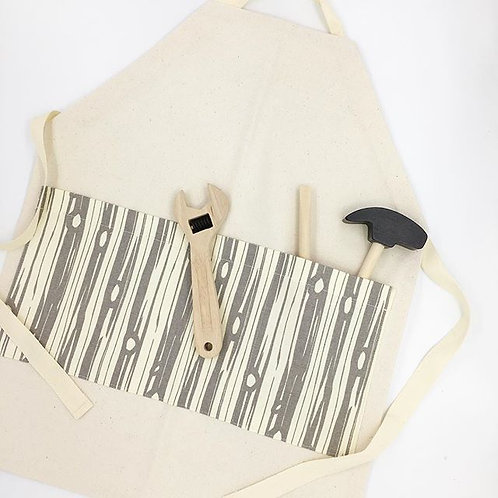 organic canvas worker apron