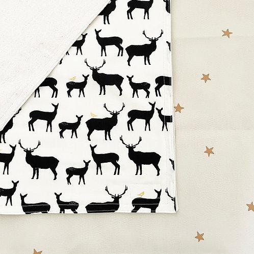 organic elk family blanket