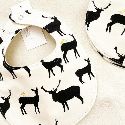 organic elk family bib