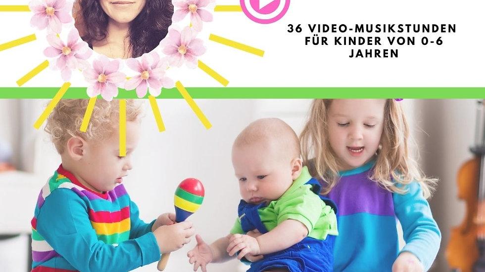 KOMM, SING MIT MIR! Video-Musikstunden für Kinder von 1-6 Jahren
