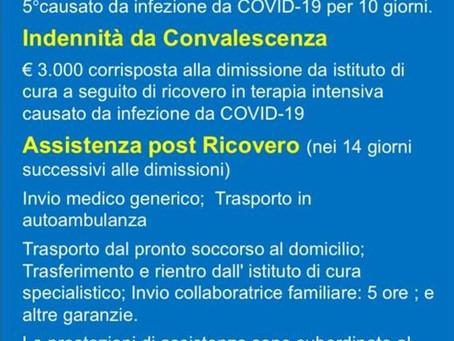 Polizza Corona Virus Per Dipendenti ed Amministratori