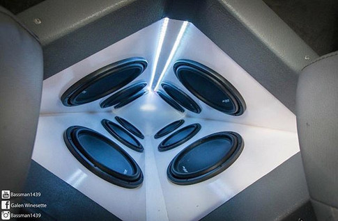 Kyle's Diamond with 12 M16-15 Mc Laren Sound Systems subs. Picture taken by _bassman1439 and truck built and owned by _mclaren_f150 .jpg