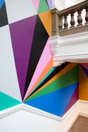 Detail of Xanadu commission for staircase of Leeds Art Gallery, 2017