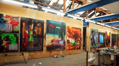 Luke's studio
