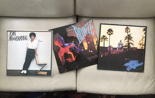 Armatrading, Bowie & Eagles albums