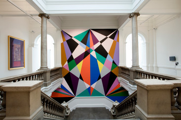 Xanadu commission for staircase of Leeds Art Gallery, 2017