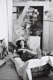 Ana in her studio in Paris