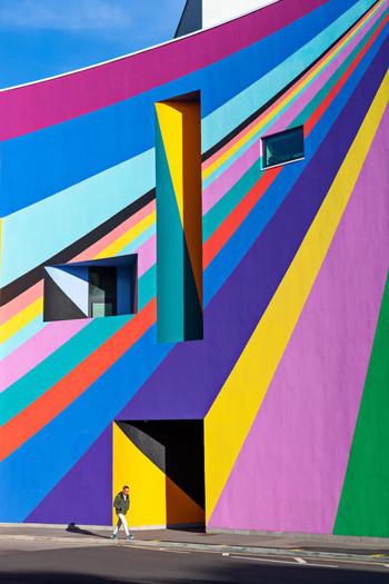Detail of 'Dance Diagonal', 2019 Towner Gallery Eastbourne photo ©Michael Franke