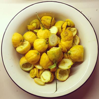 Lemonade like my mamma makes it.