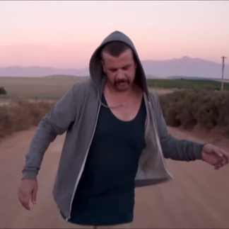 Jack Parow music video shoot